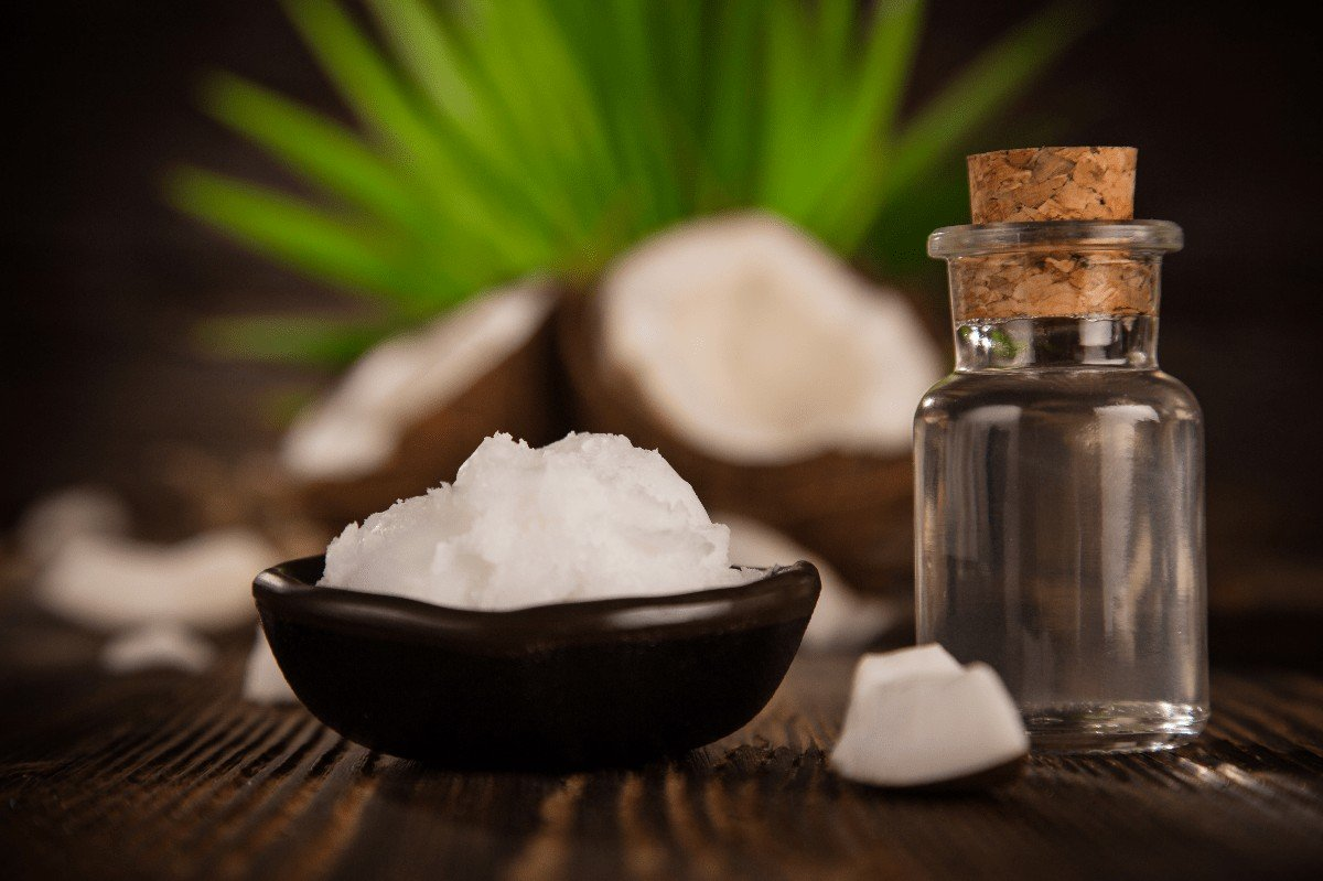 Coconut oil for beard hair