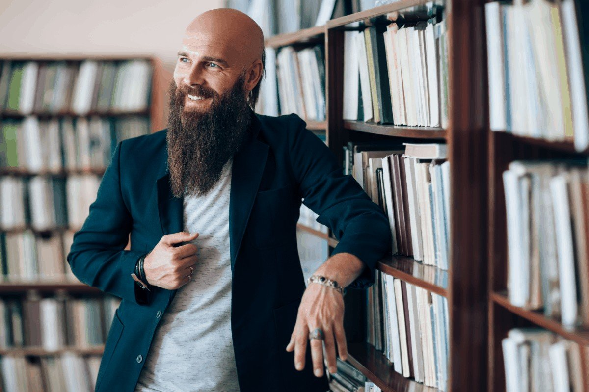 Best trendy beard style for bald head