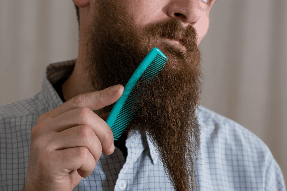What happens if you stop using minoxidil on beard