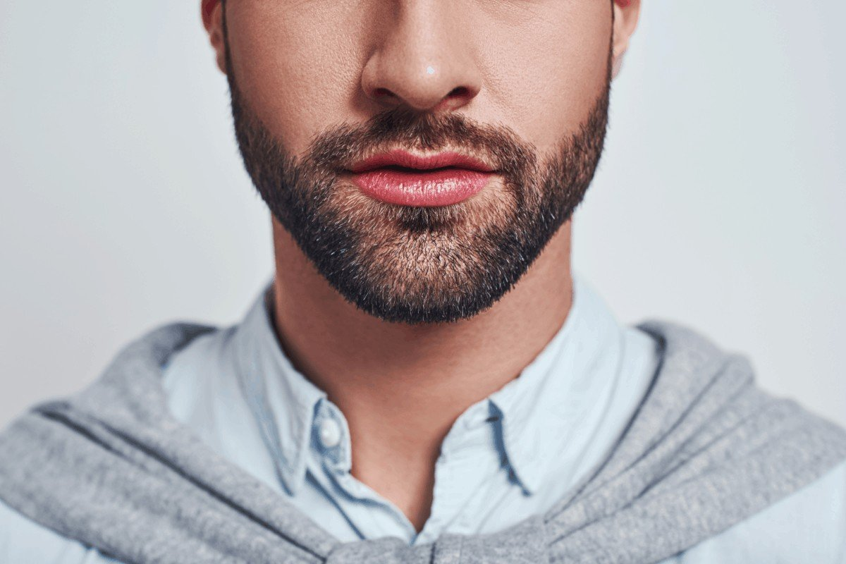 The perfect ducktail beard neckline How to grow, trim and shape it