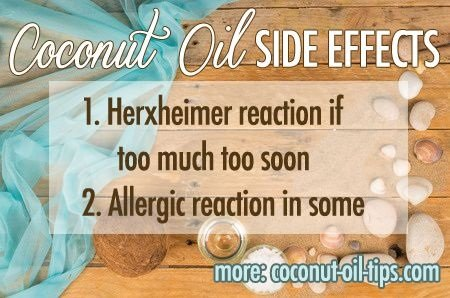 Drawbacks of Coconut Oil