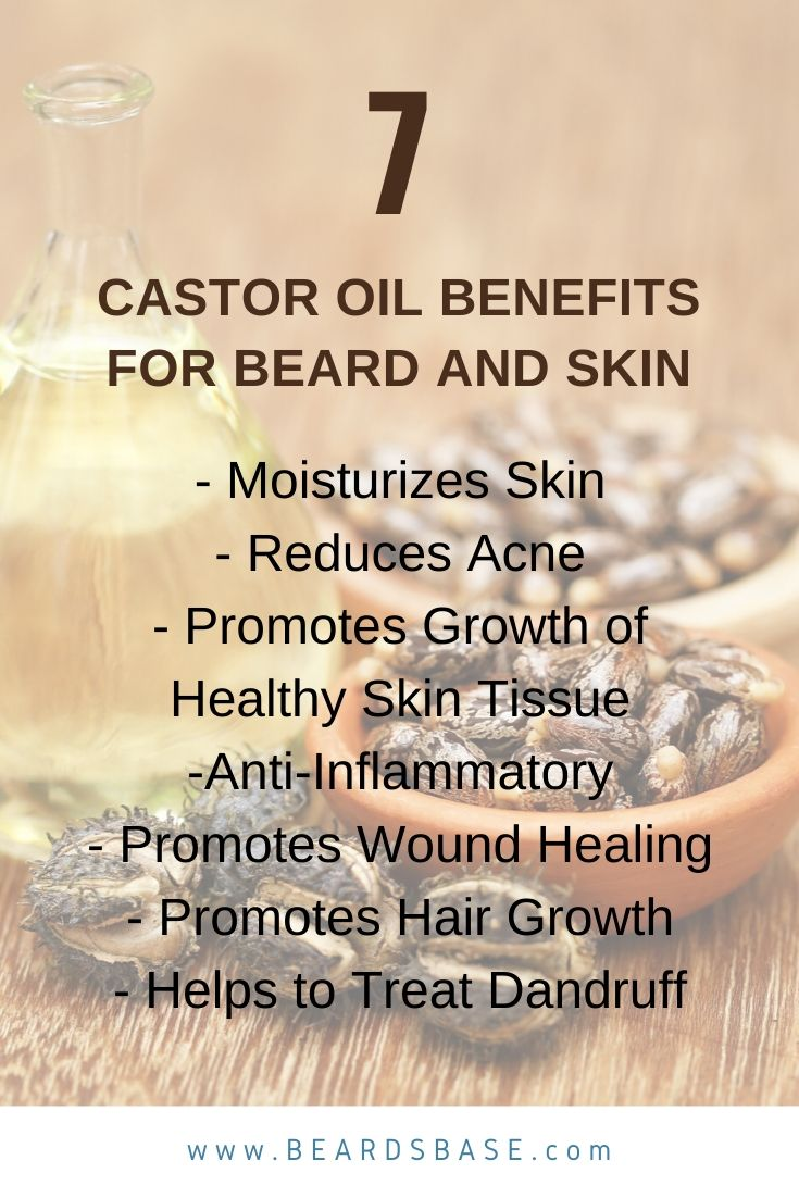 Castor Oil Bnefist for Patchy Beard-Beards Base