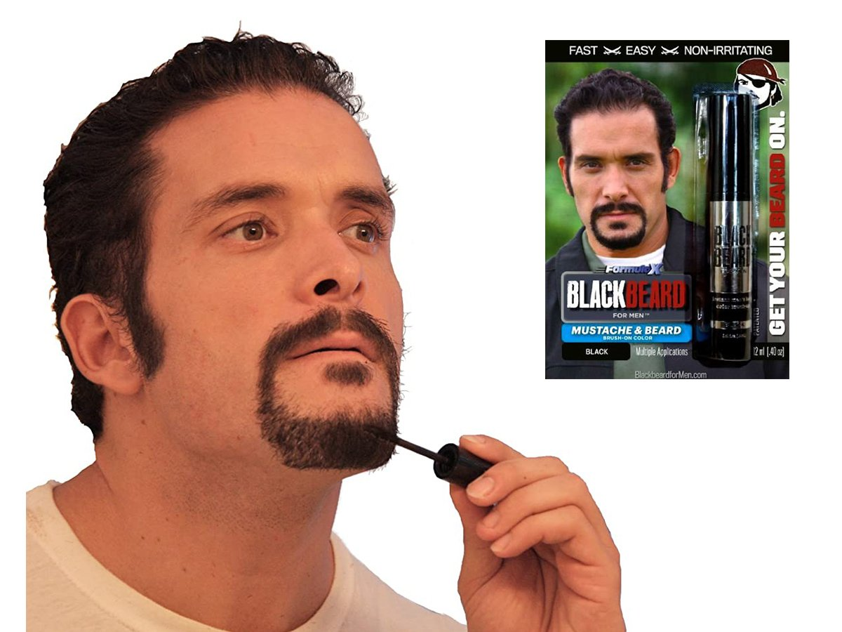 Blackbeard for Men Formula X Review- Temporary Beard Dye