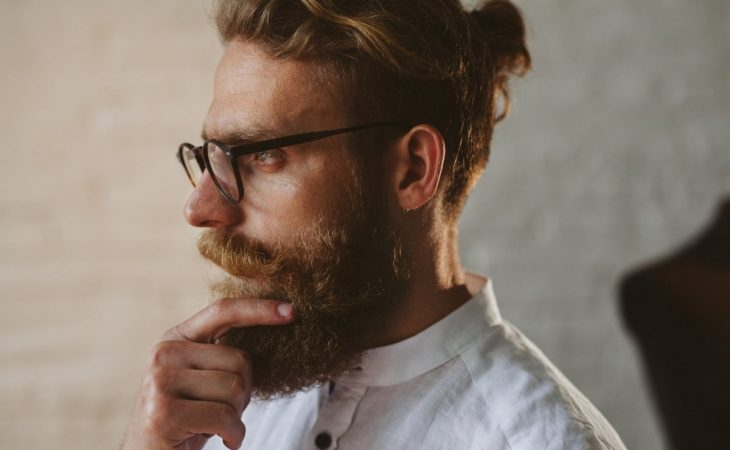 How To Stop Beard Curls Under Chin