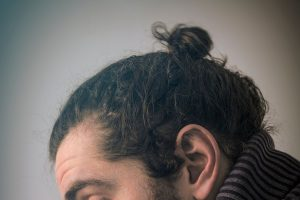 How To Tie A Man Bun With Short Hair