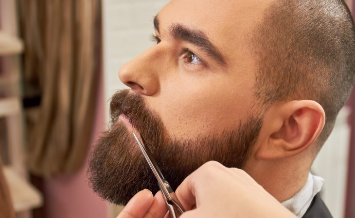 Can you trim beard wet or dry