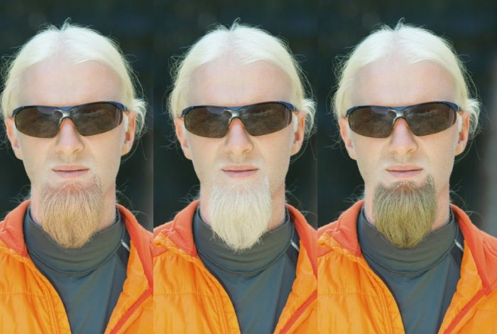 Choose The Right Color To Dye Facial Hair Blonde