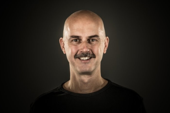 Choose The Right Style - Bald and Mustache