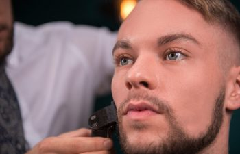 How to maintain and style pork chops facial hair