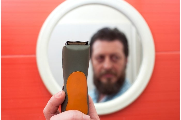 Steps To Trim Ducktail Beard Style